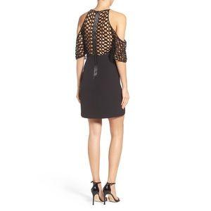 Bardot Dresses & Skirts - Bardot Black Cold Shoulder Dress