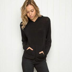 Brandy Melville black hoodie