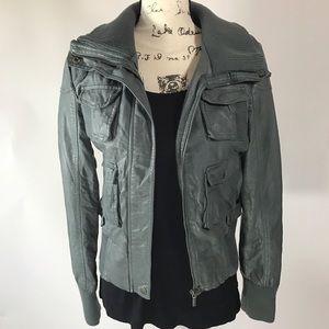 Bernardo Jackets & Blazers - Collection by Bernardo Faux Leather Jacket