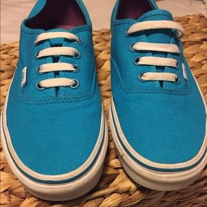 Vans Shoes - !! SALE !! Electric Blue Authentic Vans