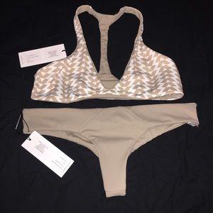 Ola Feroz Other - Ola Feroz Brand new tan and white bikini