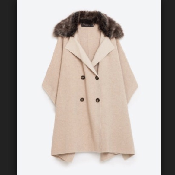 13a230569aad wide varieties 2a8ff bd3a2 crossover cloth coat from zara ...
