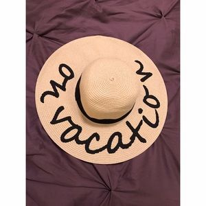 August Hats Accessories - 'On Vacation' Floppy Beach Hat