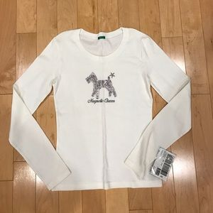 United Colors Of Benetton Tops - Brand new women's long sleeve tee