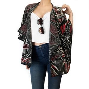 Anthropologie sugar lips tribal print cardigan
