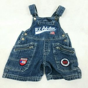 U.S. Polo Assn. Other - US POLO OVERALL DENIM SHORTS