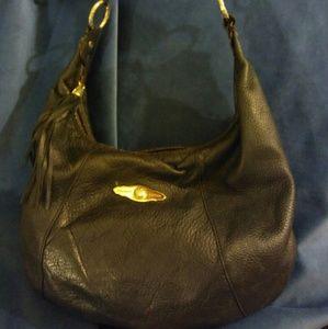 Elliott Lucca Handbags - Elliott Lucca pebbled leather satchel