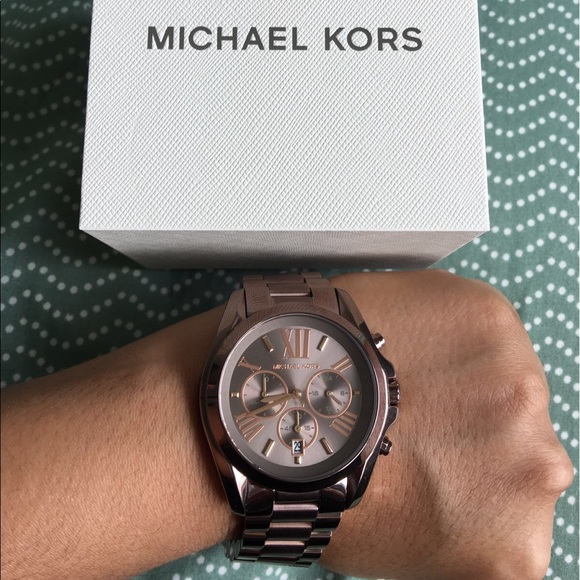83bc487478c4 Michael Kors Woman s Choklate Sable Watch MK6247. M 58e7a5d97fab3a9231005fce