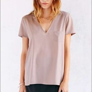 Urban outfitters silky tee