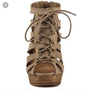 Restricted Shoes - Restricted Magia Lace Up Sandals Size 9.5