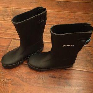 Tretorn Shoes - Tretorn Skerry Mid Calf Rain Boots Black