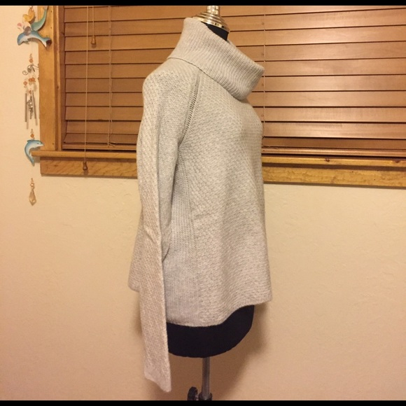 Banana Republic Sweaters - Banana Republic Grey Chunky Turtle Neck - Medium