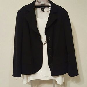 Lane Bryant Jackets & Blazers - Lane Bryant Black suit jacket size 14/16
