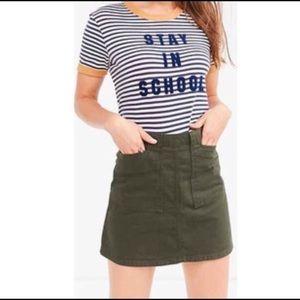 St. John's Bay Pants - Army Green Khaki Skirt-Skort