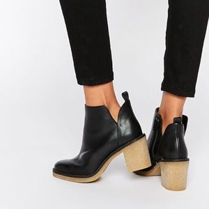 Miista Shoes - Miista Kendall Leather Booties