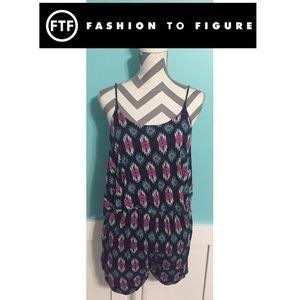 Fashion to Figure Pants - Fashion to Figure Plus Size Romper