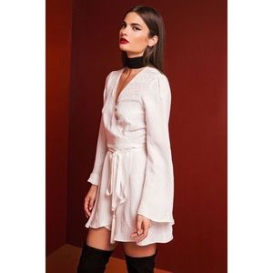 Stone Cold Fox Dresses & Skirts - Stone Cold Fox KAI DRESS WHITE JACQUARD size 1 S