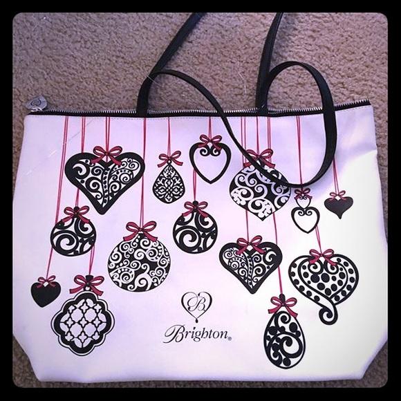 82% off Brighton Handbags - Brighton Christmas Ornaments tote from ...