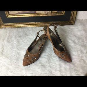 Kathy Van Zeeland Shoes - Kathy Van Zeeland Slimgback Sandals.  Sz 7.5
