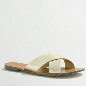 J. Crew Shoes - NWT J. CREW | Slip-On Sandals