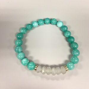 Twilight Gypsy Collective Jewelry - Handcrafted Ariel Sky bracelet.