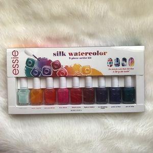 Other - Essie silk watercolor 9 piece artist kit