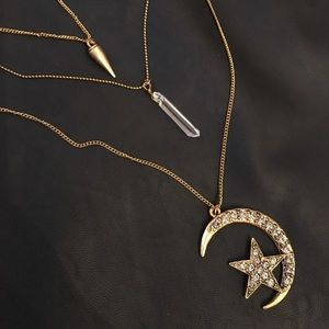 Pamela Love Jewelry - Moon & star necklace 🌙✨