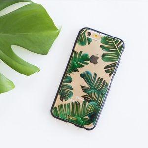 sonix Accessories - Bahama tropical leaf case