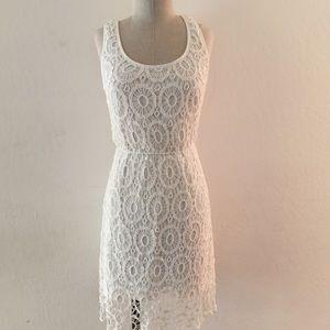 LC Lauren Conrad Dresses & Skirts - Crotchet Dress with Open Back