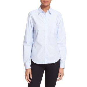 Equipment Tops - Equipment Kate Moss blue Oxford shirt - EUC