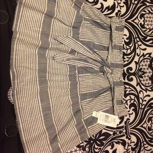 Joe Browns Dresses & Skirts - Striped flowy mini skirt NWT
