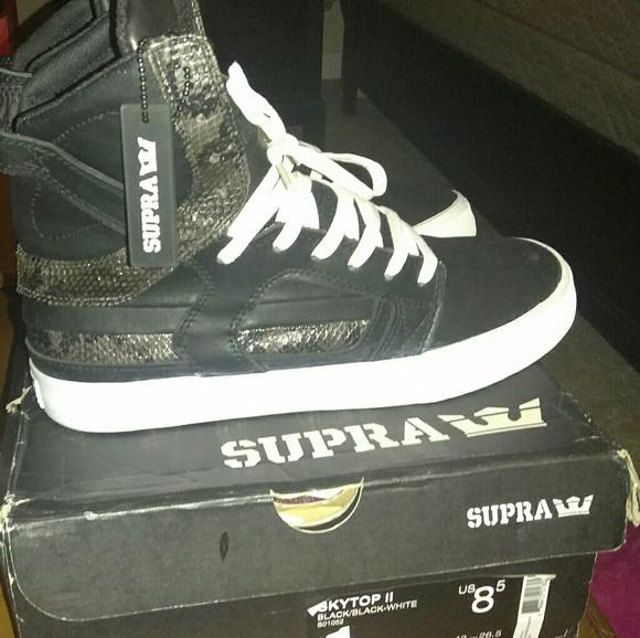 096c11cbd2 Supra Shoes   Bnib Skytop Ii 2 Snakskn Full Grain Lthr Ltd   Poshmark