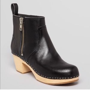 Swedish Hasbeens Shoes - Swedish Hasbeen Emy Zip Boot