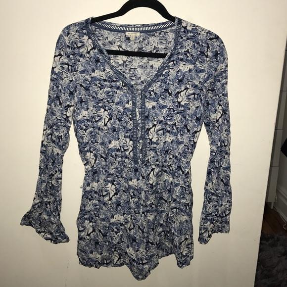 755b7517d92 LF Pants - En Creme floral romper from LF