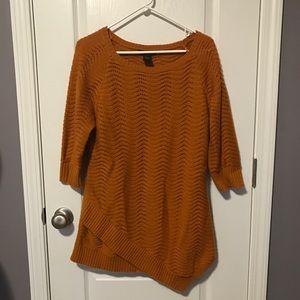 Design History Sweaters - Waffle Knit Sweater