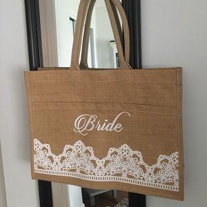 Handbags - 👰🏻❤️Bride bag. Used once!💕