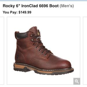 Rocky Other - NWT rocky safety Toe boots