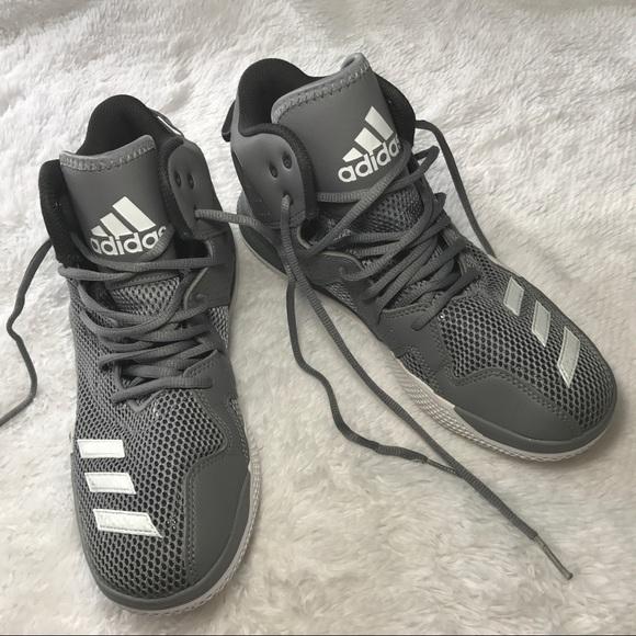 Le Graywhite Adidas Duplice Minaccia Rimbalzare Graywhite Le Scarpe Poshmark 6cca59