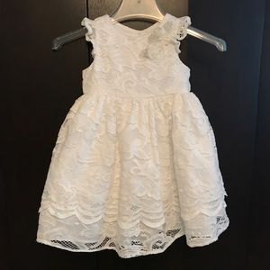 White Lace special occasion dress like new
