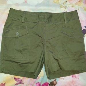 Talbots Pants - Talbots Army Green Khaki Shorts