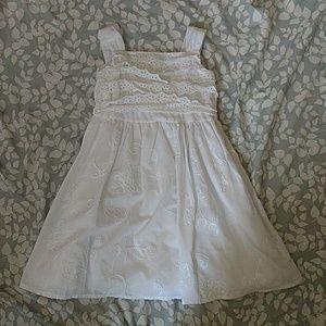 Sweet Heart Rose Other - Sweet heart rose spring white dress