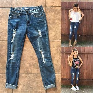 Becca Med Wash Jeans 