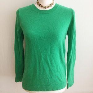 Jcrew Kelly green crewneck sweater