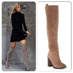 Kelsie Dagger Over The Knee Brooklyn Suede Boots