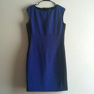 Chaps Dresses & Skirts - Chaps Blue Career Dress