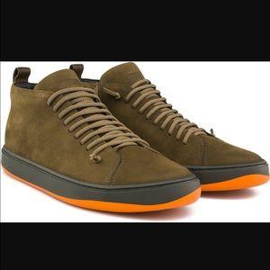 Camper Other - Camper Domus Men's 44 US 11 Suede Mid Shoes Olive