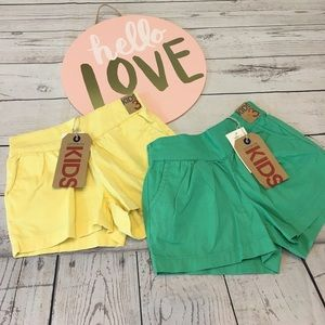 Cotton On Other - 🍭Two pairs of NWT cotton on shorts in size 3!