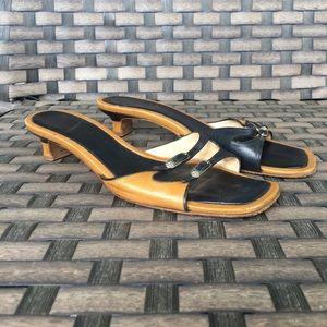 Vintage Chanel heeled sandals