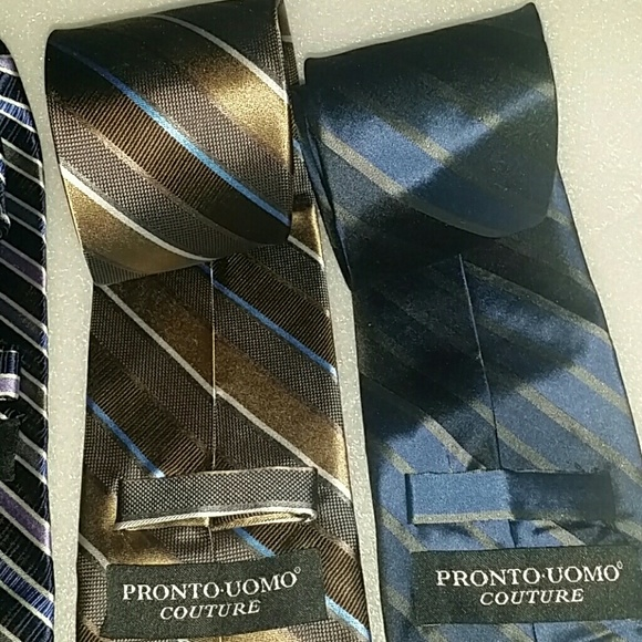 96 pronto uomo couture other bundled ties pronto
