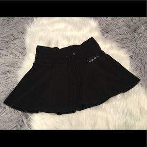 bebe Dresses & Skirts - Bebe Black Rhinestone Mini Skirt 💕